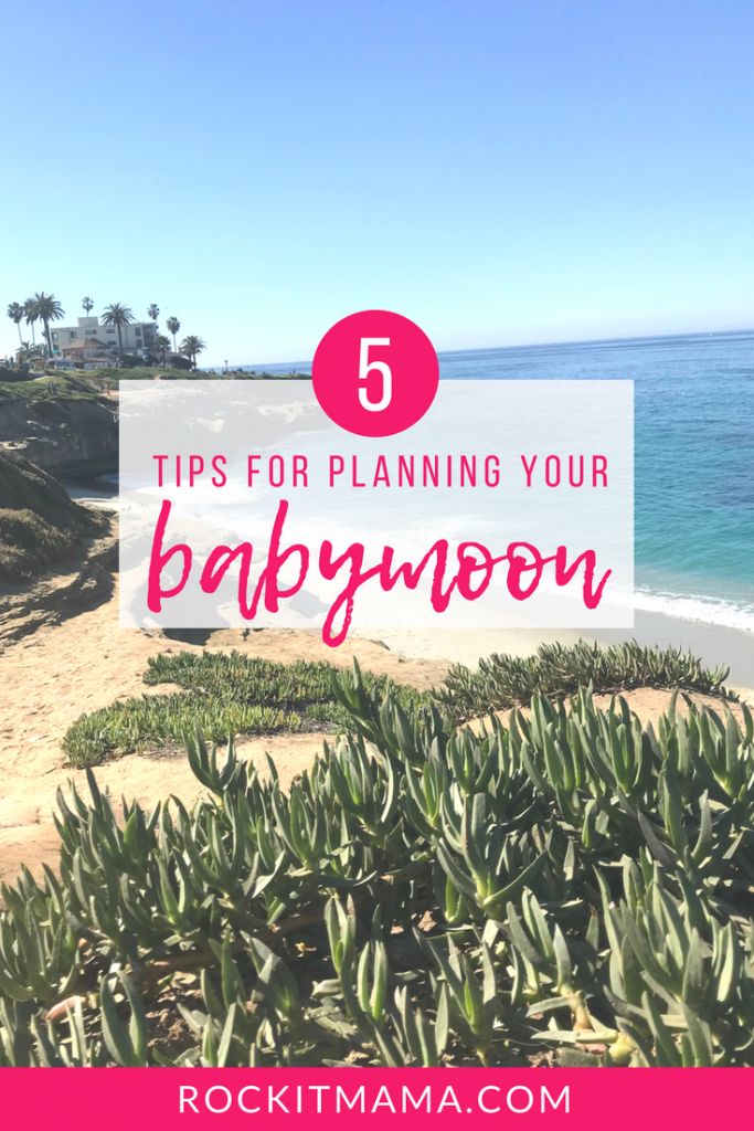 5 Tips for Planning Your Babymoon | Rock It Mama | The babymoon is a new trend in pregnancy travel that focuses on parental bonding before the arrival of new baby.