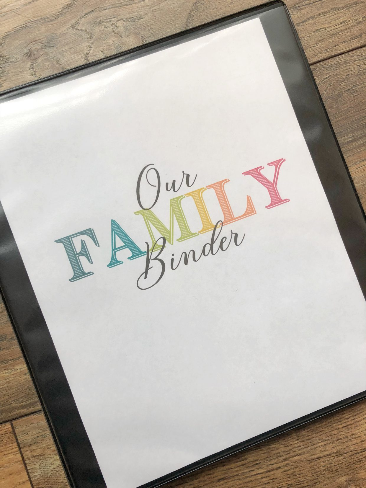 Family Emergency Binder - Free Printables to Create Your Own | Rock It Mama | Learn how to create your own emergency family binder for grab-and-go