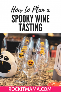 How to Plan a Spooky Wine Tasting | Rock It Mama