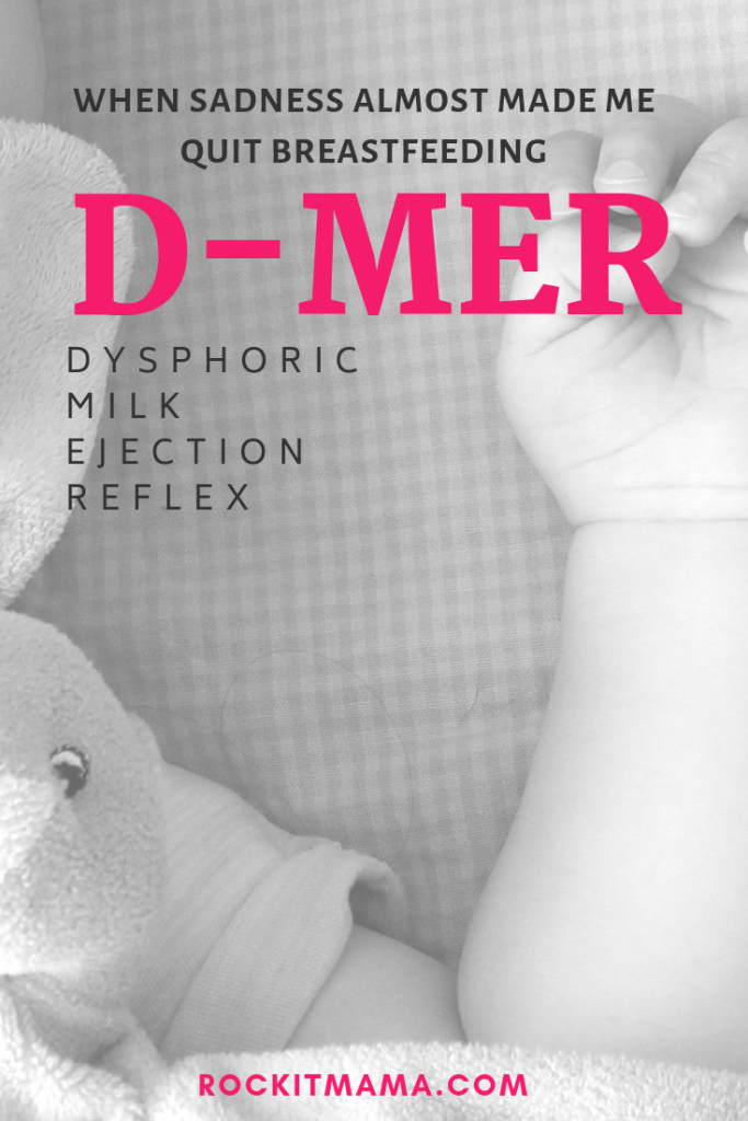Dysphoric Milk Ejection Reflex | Rock It Mama | D-MER finding the signs and understanding