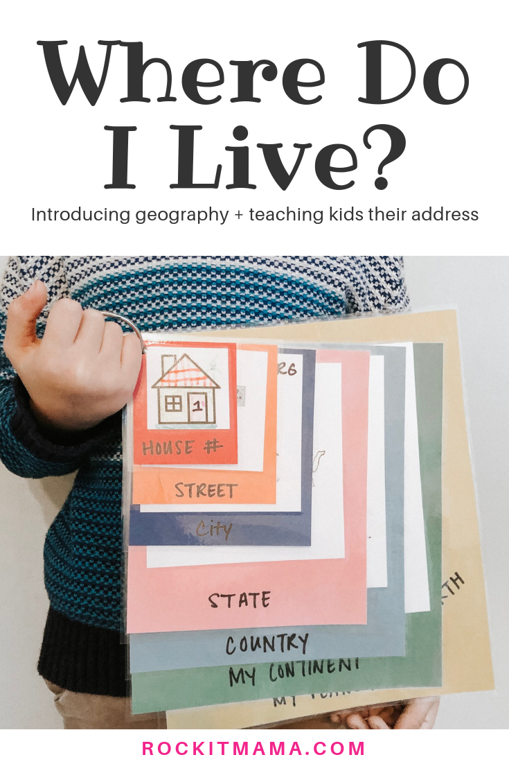 Where Do I Live Kid Activity Introducing Geography And Teaching Kids Their Address Rock It Mama Then create an audio of you reading the book. introducing geography and teaching kids