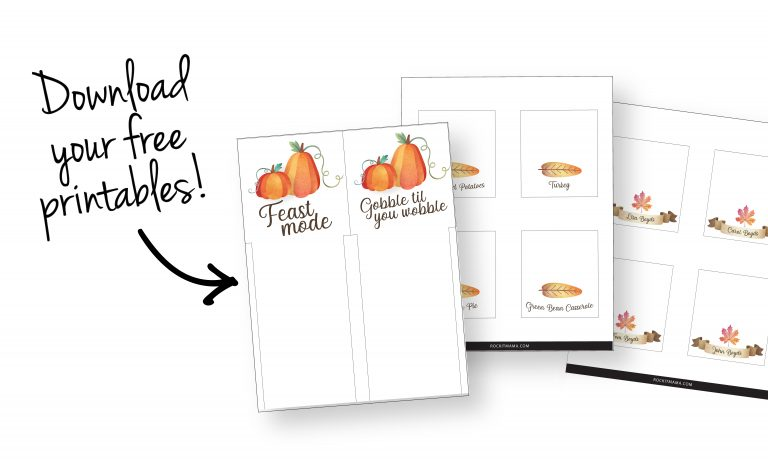 Picture to download your printables