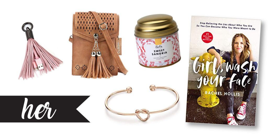 50 Christmas Gifts Under $10 (and 75+ Stocking Stuffer Ideas) | Rock It Mama | For Her