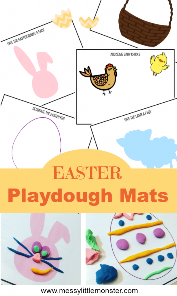 Picture of Easter Playdough Mat Activity