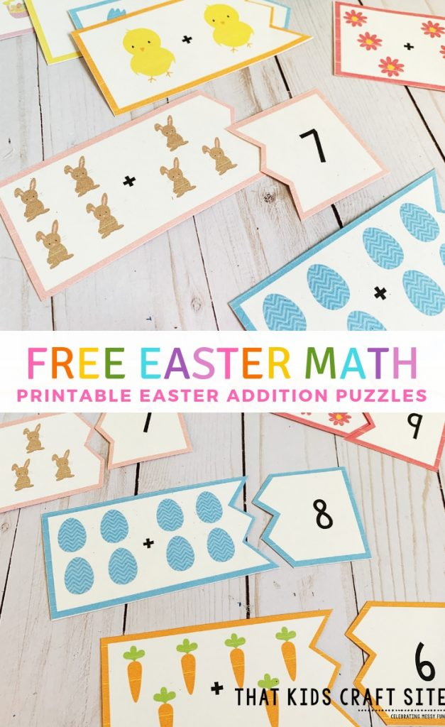 Picture of Easter math puzzle