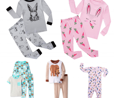 Picture of affordable children's pajamas