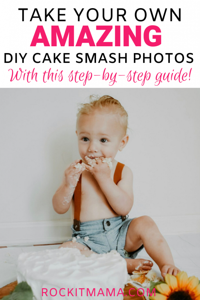 DIY Cake Smash photos