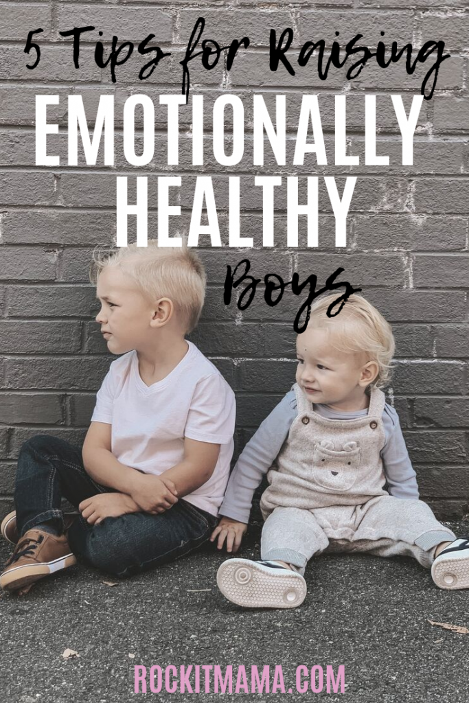 Picture of two brothers for emotionally healthy boys post rock it mama