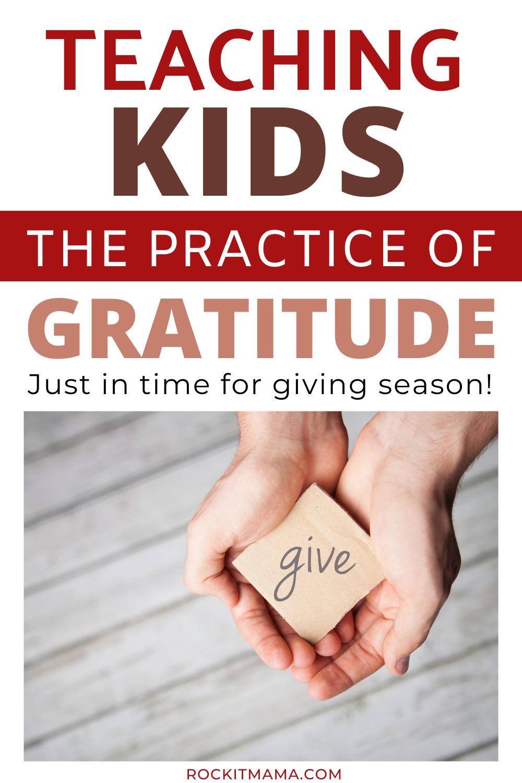 teaching gratitude