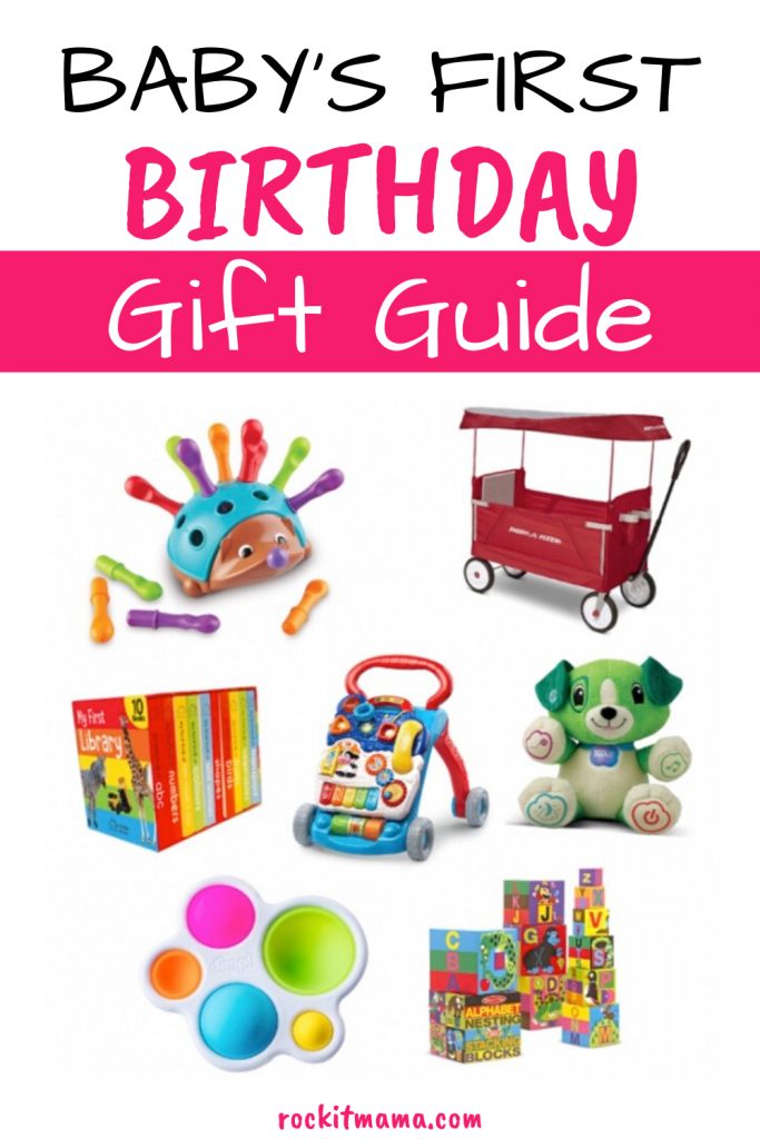 Baby's first birthday gifts
