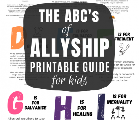Teaching kids about allyship