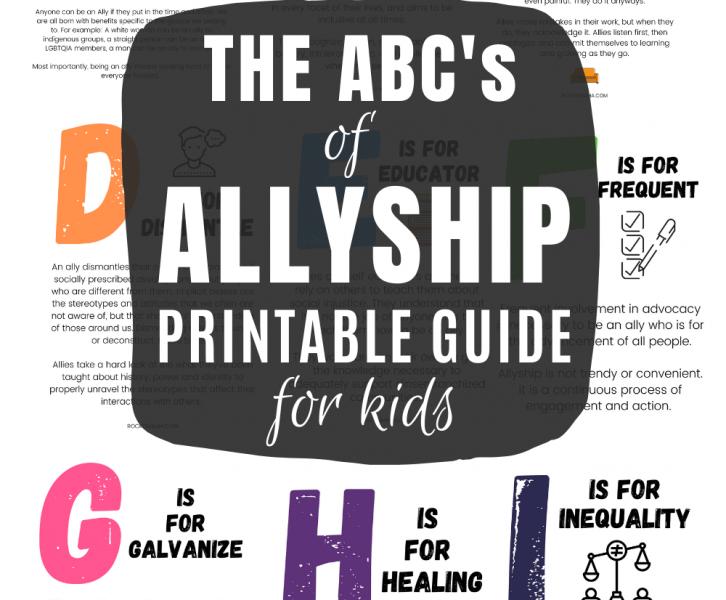 Teaching kids about allyship