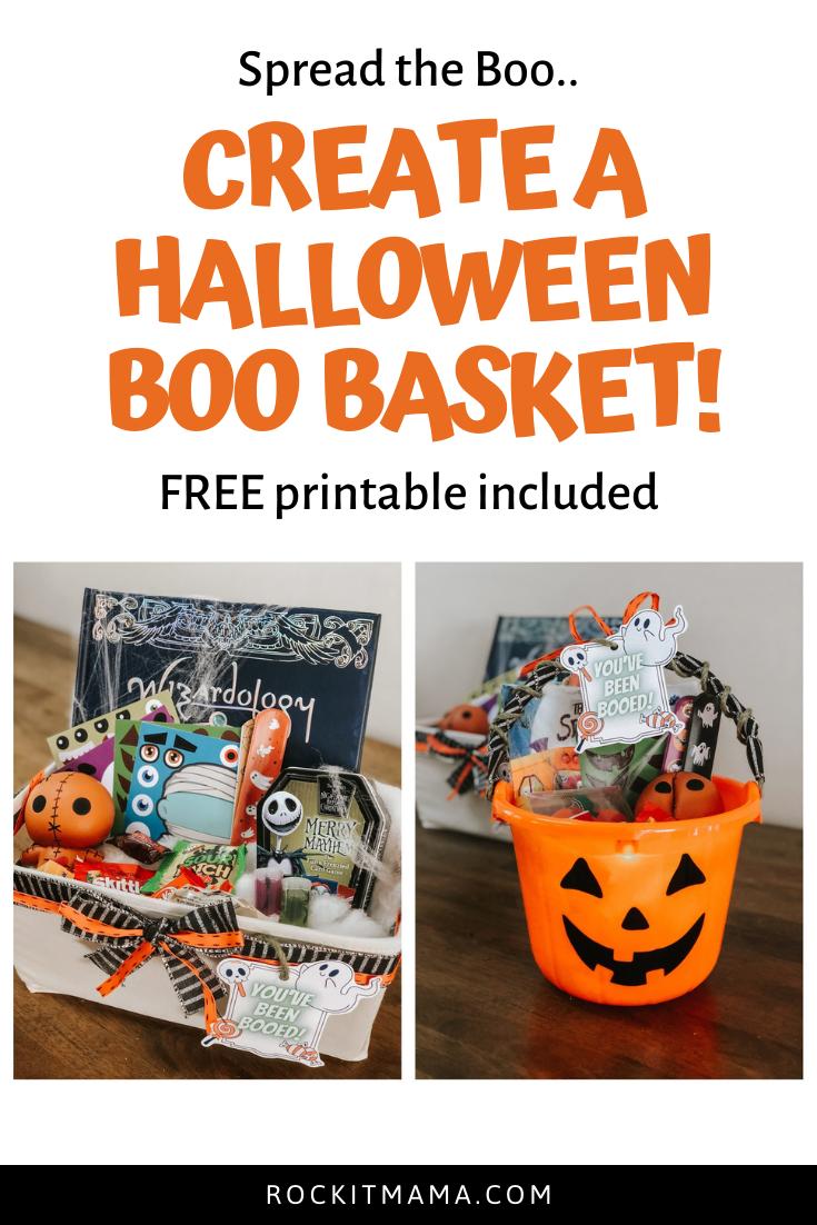 Boo Basket For Halloween Rock It Mama